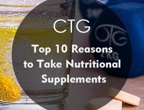 Top 10 Reasons to Take Nutritional Supplements